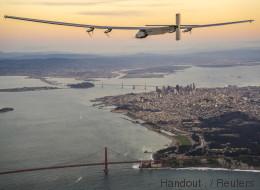 Solar Impulse a réussi sa traversée du Pacifique, son étape la plus dangereuse