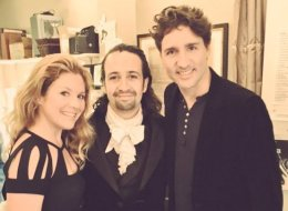 Trudeau, Lin-Manuel Miranda Geek Out Over Shakespeare