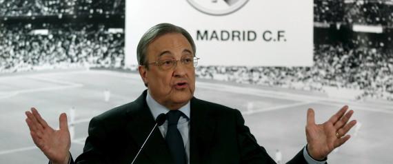 PRESIDENT DU REAL MADRID