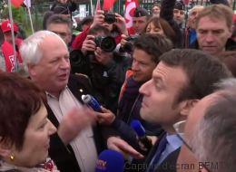 Macron pris à partie par les syndicats dans le Puy-de-Dôme