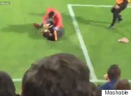 Assistant Referee Attacked During Soccer Game In Turkey