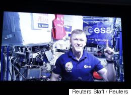 L'astronaute Tim Peake court un marathon dans l'espace