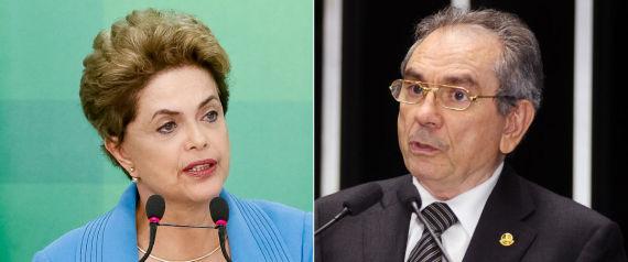 DILMA E RAIMUNDO LIRA