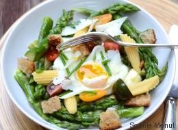 Vite fait, bien fait: Fricassée d'asperges et œuf mollet