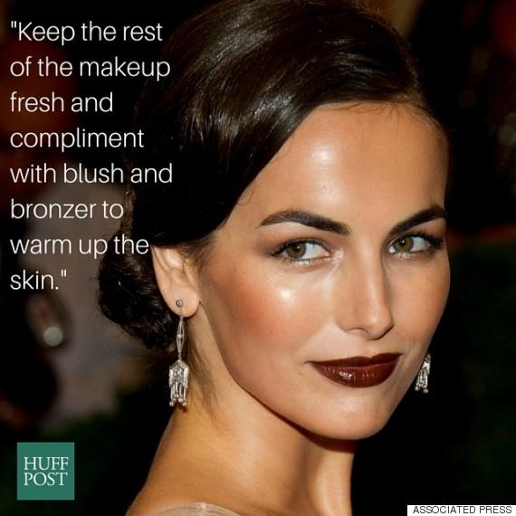 camille belle dark lipstick