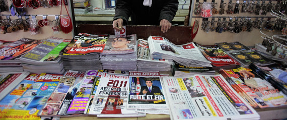 NEWSPAPERS TUNIS