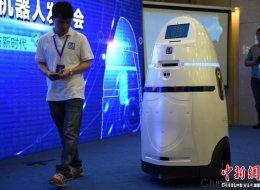 Il n'est pas aussi impressionnant que Robocop, mais ce robot anti-émeutes existe en Chine
