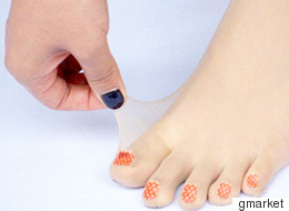 We Can't Decide If Pre-Painted Toenail Tights Are Weird Or Genius