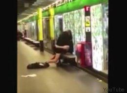 Acte sexuel filmé dans le métro de Barcelone (VIDÉO)