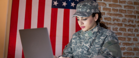 THE US MILITARY ONLINE