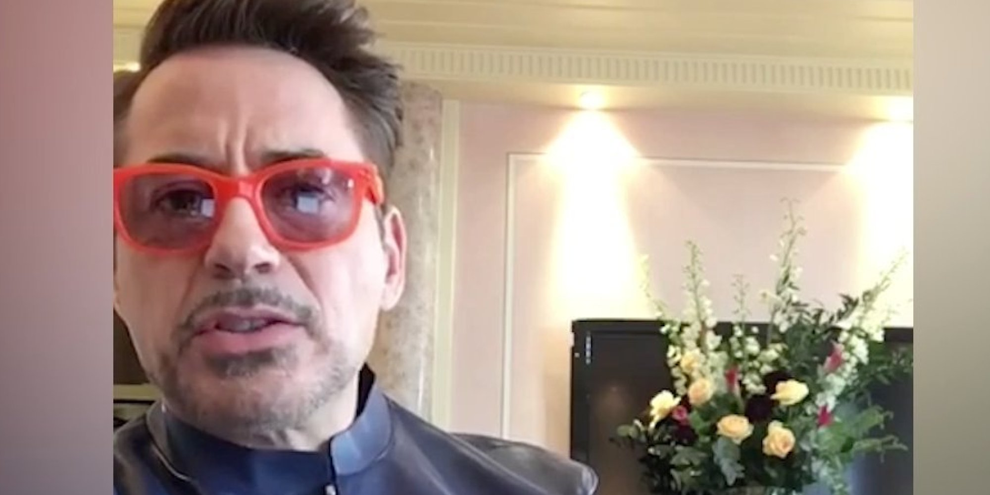 VIDÉO. En promo p... Robert Downey Jr On Facebook