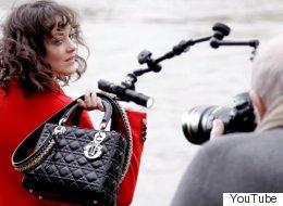 Dans les coulisses de la nouvelle campagne <em>Lady Dior</em> avec Marion Cotillard