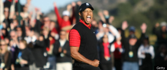 Tiger Woods Wins Chevron