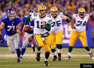 Green Bay Packers Giants Rodgers