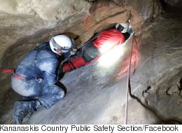 All-Night Rescue Frees Tourist Stuck In 'Laundry Chute' Cave