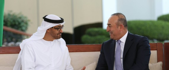 ABU DHABI CROWN PRINCE AND THE TURKISH FOREIGN MIN