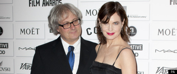 Downton abbey s elizabeth mcgovern supports husband simon curtis at