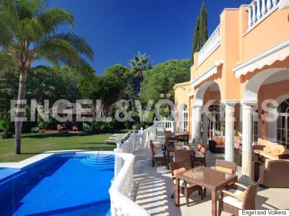 prince spanish villa marbella