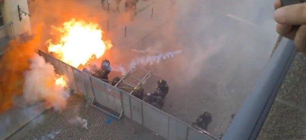 France: débordements en marge des manifestations contre la loi Travail (VIDÉO)
