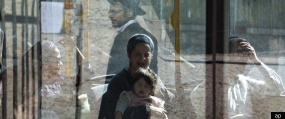 SEGREGATED BUSES ISRAEL