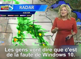 Windows 10 a gâché en direct son bulletin météo (VIDÉO)