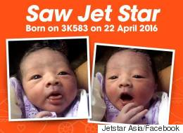 Mom Names Baby Jet Star After Giving Birth On Airline