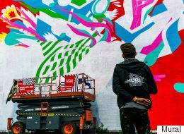 Le Festival Mural édition 2016 attire du beau monde