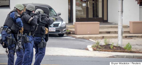 Alerte à la bombe dans une station de télé : le suspect neutralisé (PHOTOS)