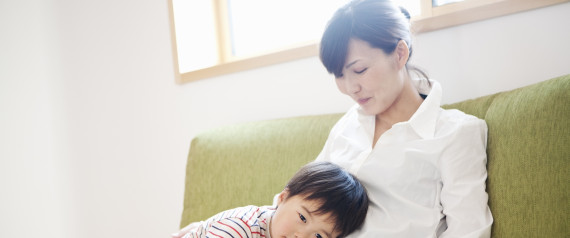 CHILDCARE WOMAN JAPAN