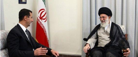 BASHAR ALASSAD AND IRANIAN PRESIDENT