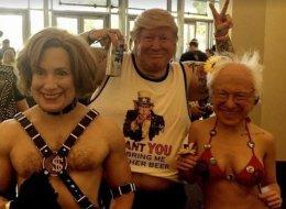 Ce masque de Donald Trump va vraiment vous faire peur
