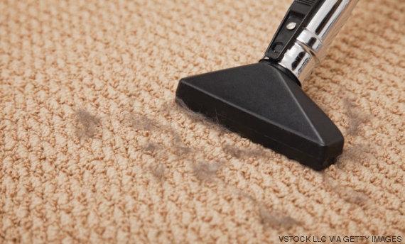 alfombra aspirador pelusa