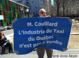 Deux manifestations pro et anti Uber à Montréal (PHOTOS)