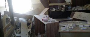 SYRIAN HOSPITAL BOMBING