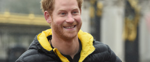 PRINCE HARRY SMILE