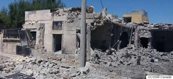 Syrie: Un hôpital à Alep qui bénéficiait de l'aide du Canada a été détruit (PHOTOS)