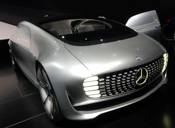 mercedes driverless