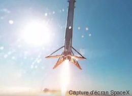 Si une fusée se posait dans votre jardin, ça ressemblerait à ça