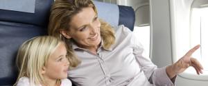 CHILD PARENT FLIGHT AIRPLANE