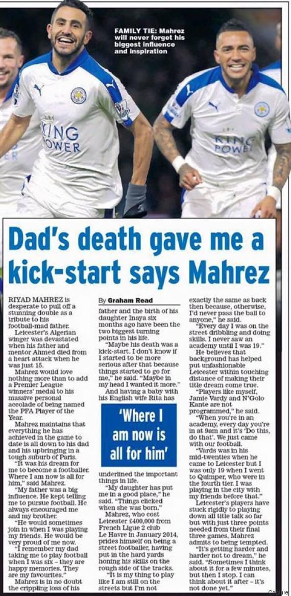 daily news mahrez
