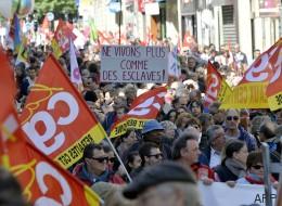 84.000 manifestants dans les rues pour le 1er mai