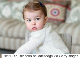 Sweet New Photos For Princess Charlotte's First Birthday
