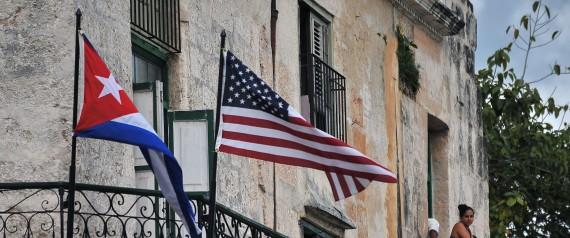 USA CUBA FLAG