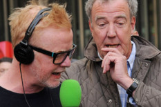 Chris Evans and Jeremy Clarkson | Pic: PA