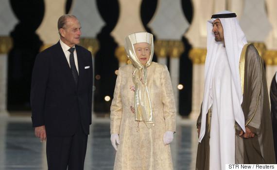 elizabeth arab emirates