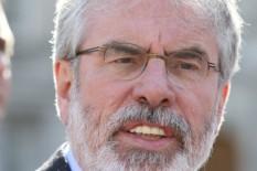 Gerry Adams | Pic: PA