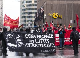 Montreal's May Day Protest Turns Violent