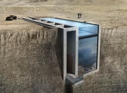 Cette maison incrustée à flanc de falaise va vraiment être construite (PHOTOS)