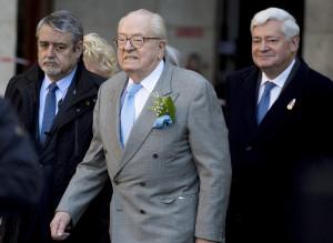 Bruno Gollnisch Jean Marie Le Pen