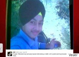 Indian Teenager Dies In Selfie Accident